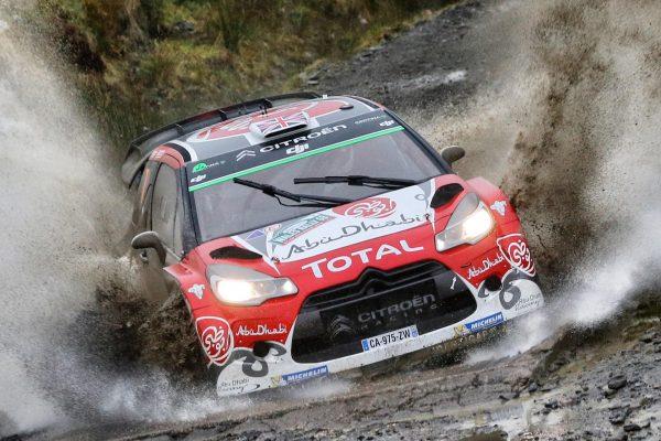 WRC 2016 WALES RALLY La DS3 CITROEN de KRIS MEEKE