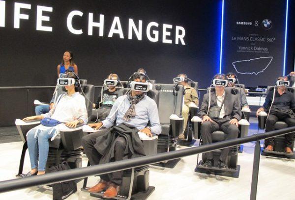 Yannick Dalmas à 360°... BMW & Samsung... images réelles et époustouflantes...