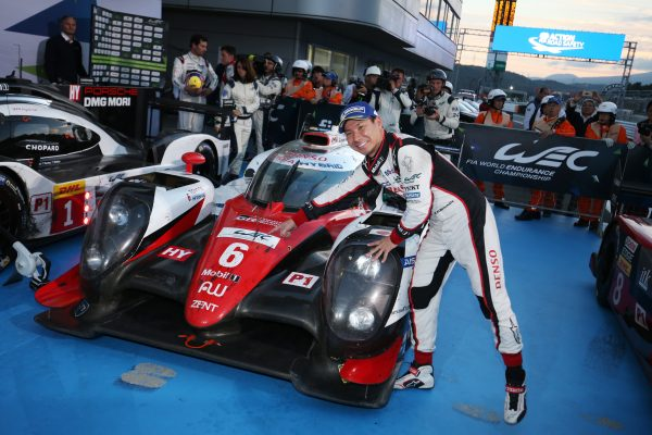 Kamui Kobayashi (JPN) Toyota Racing TS050 World Endurance Championship. 6 Hours of Fuji Fuji Speedway, Japan 13th-16th October 2016