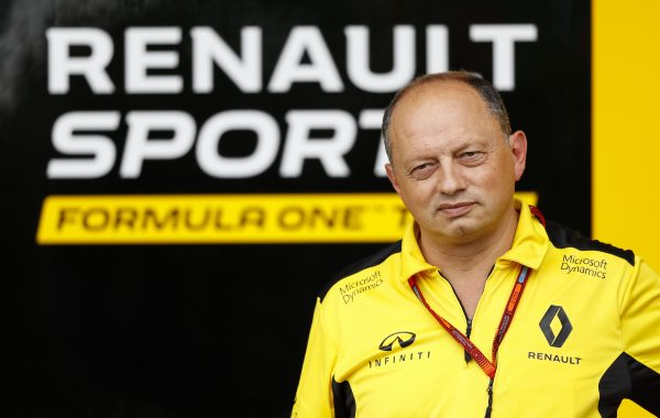 VASSEUR Frederic (fra) racing director Renault Sport Racing F1 team ambiance portrait during the 2016 Formula One World Championship, Japan Grand Prix from October 7 to 9 in Suzuka - Photo Florent Gooden / DPPI