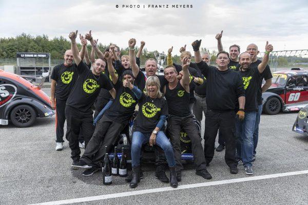 Dernière manche Funcup sur le circuit de Nogaro.