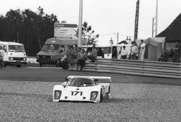 Slim-BORGUDD-24-Heures-du-Mans-1987-sur-TIGA-GC-86-avec-Gronvall-et-Ratcliff-Abandon-©-Manfred-GIET