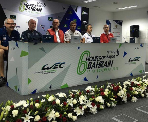 WEC-2016-BAHREIN-La-conférence-de-prsse-des-Teams-manager-Jeudi-17-novembre-Photo-Georges-DECOSTER