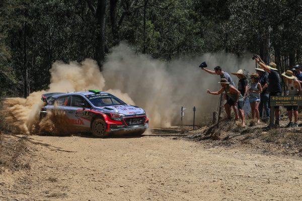 WRC 016 AUSTRALIE La HYUNDAI i20 WRC de Hayden PADDON