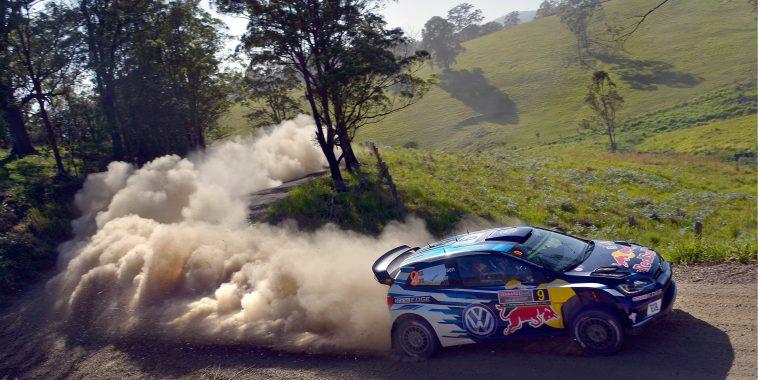 Andreas Mikkelsen (NOR), Anders Jæger (NOR) Volkswagen Polo R WRC (2016) WRC Rally Australia 2016 Photo: Daniel Roeseler