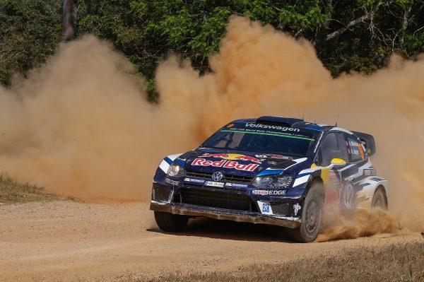 WRC 2016 AUSTRALIE La VW POLO R de ANDREAS MIKKELSEN