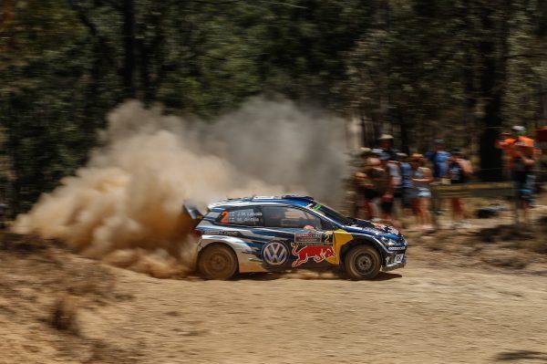 WRC 2016 AUSTRALIE La VW POLO R de JARRI MATTI LATVALA