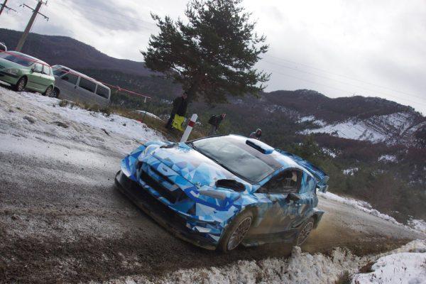 WRC-2017-Elfyn EVANS en essai avec la future FORD-FIESTA-RS
