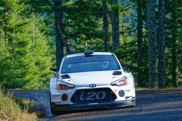 WRC-2017-HYUNDAI en essai, avant le MONTE-CARLO dans le Vercors et l'Ardèche