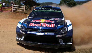 WRC-2016-AUSTRALIE-La-VW-POLO aux couleur de REDD BULL