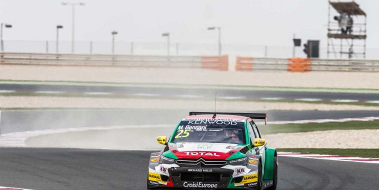 25 BENNANI Mehdi (mar) Citroen C Elysee team Sebastien Loeb racing action during  the 2016 FIA WTCC World Touring Car Championship race at Losail  from November 23 to 25 Qatar - Antonin Grenier / DPPI