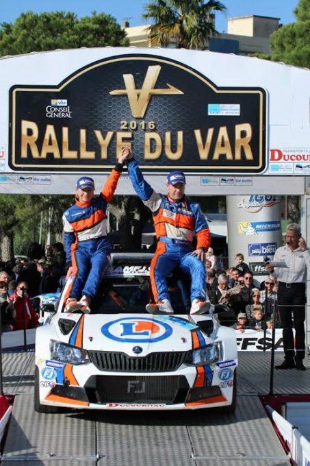 rallye-du-Var-2016-ROCHE-ROCHE-Skoda-Fabia-R-vainqueur-du-Trophée-Michelin-photo-Jean-François-THIRY