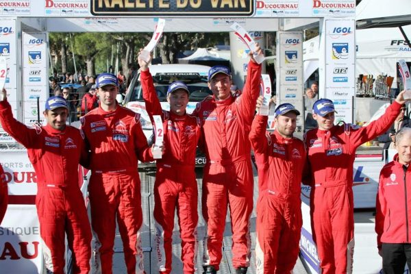 rallye-du-Var-2016-podium-Citroën-Junior-Trophy-2016-photo-Jean-François-THIRY