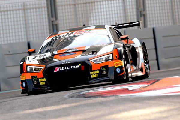 12 HEURES ABOU DHABI 2016 L'AUDI R8 LMS GT3 de l'OPTIMUM Motorsport