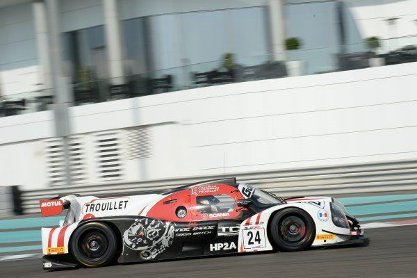 12 HEURES ABOU DHABI 2016 La LIGIER JSP3 du Team GRAFF la N°24.