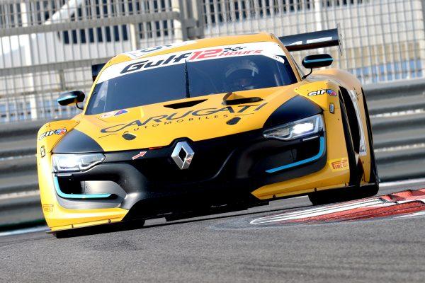 12 HEURES ABOU DHABI 2016 La RENAULT RS 01 de l'équipe GP Extreme