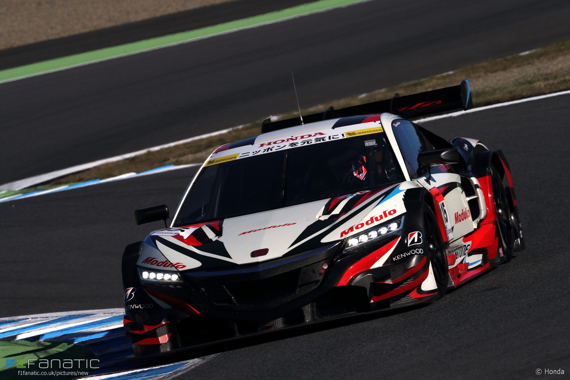 JENSON BUTTON SUR LA NSX