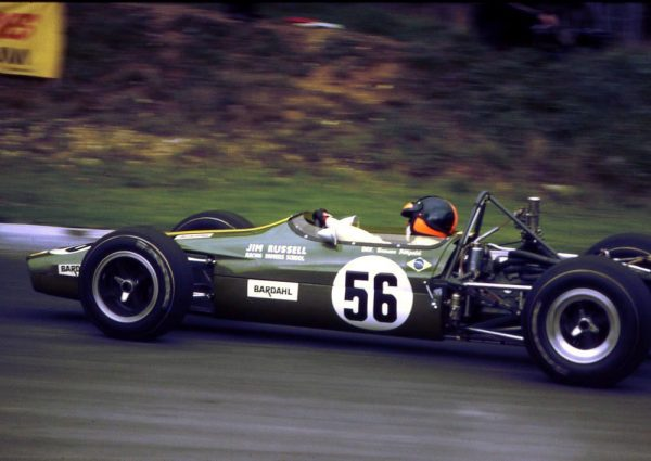 EMERSON-FITTIPALDI-en-F3-en-1969-à-Brands-Hatch