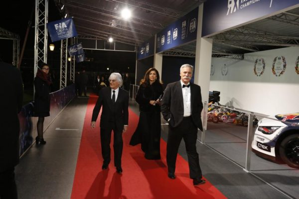 FIA REMISE DES PRIX 2016 à VIENNE le vendredi 2 décembre BERNIE ECCLESTONE