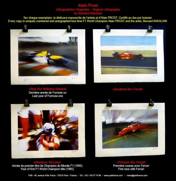 lithographie-bernard-bakalian-expo-a-retromobile
