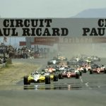 FRANCE FORMULA ONE GRAND PRIX AT PAUL RICARD CIRCUIT ON JULY 25th 1982.