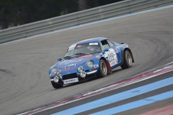 RALLYCIRCUIT 2016 PAUL RICARD - ALPINE A 110 de Philippe MERMET - Photo Nicolas PALUDETTO