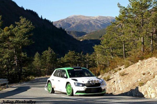 WRC-2016-Essai-de-léquipe-SKODA-qui-prépare-le-MONTE-CARLO-2017