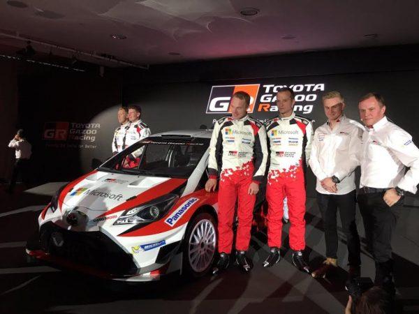 WRC-2017-13-Décembre-Présentation-de-la-TOYOTA-Yaris-WRC-avec-LATVALA-ANTTILA