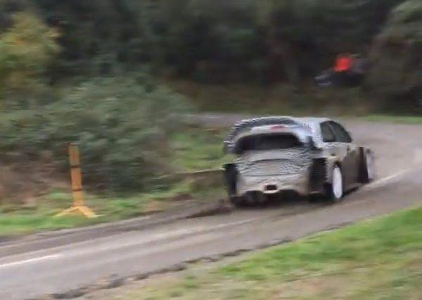 WRC 2017 Essai TOYOTA YARIS en CORSE décembre 2016
