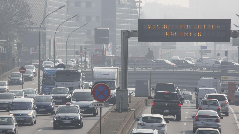 LE PIC DE POLLUTION ÉTAIT MENAÇANT DEPUIS UNE SEMAINE