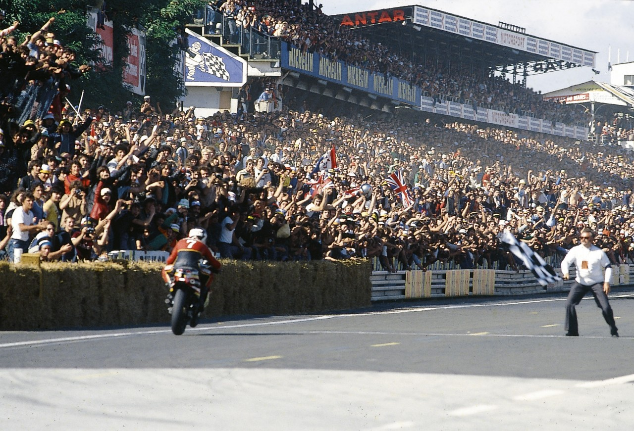 1979 GP DE FRANCE DE LÉGENDE AU BUGATTI: SHEENE EN 500