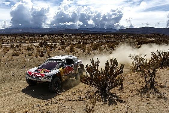 Sébastien Loeb s'impose sur la 5e étape — Dakar