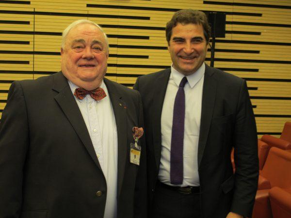 Claude Delagneau (ancien Président de la FFVE) & Christian Jacob (ancien ministre délégué à la famille)