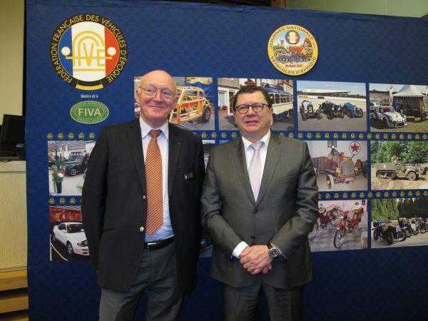 Alain Guillaume (Président de la FFVE) & Jacques Bolle (Président de la FFM)