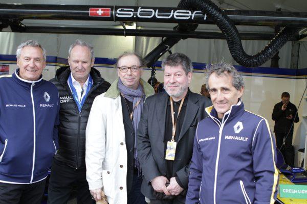 Chevallier et Laspalès dans le Stand du team Renault e.Dams © Jacques SamAlens (StrategiesAutoMotive)