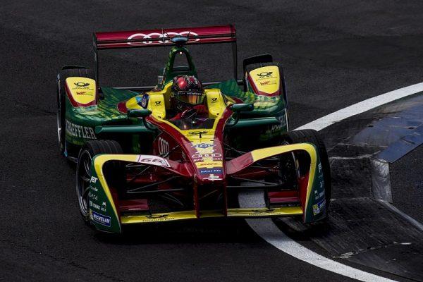 Di Grassi remporte l'ePrix Mexico, d'Ambrosio 13ème