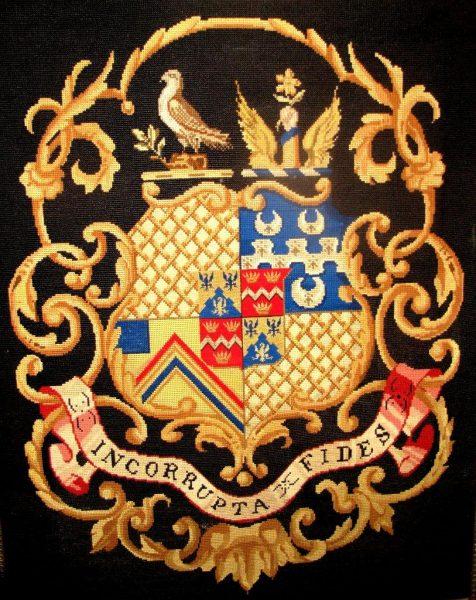 Les armoiries de la famille Whitmore (depuis le 13ième Siècle)