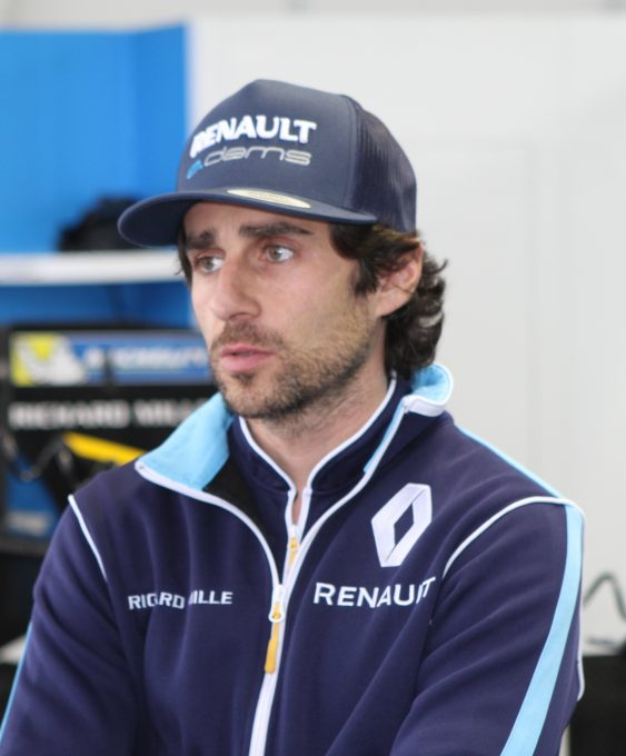 Nicolas Prost Pilote Renault e.dams