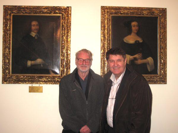 Sevenoaks - Portraits d'ancêtres - Sir John Whitmore et Robert Sarrailh