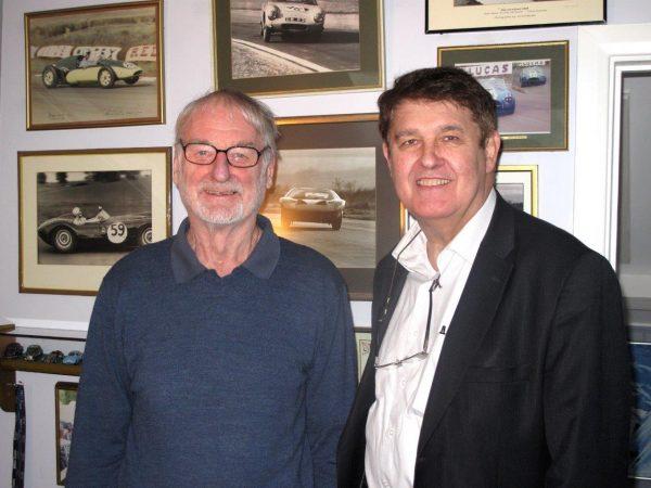 Sevenoaks - janvier 2014 - Sir John Whitmore et Robert Sarrailh