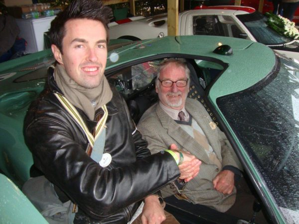 Goodwood Revival 2013 - Sir John Whitmore... un gamin de 75 ans heureux !