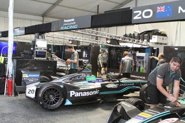 Stand Jaguar (ex Trulli)