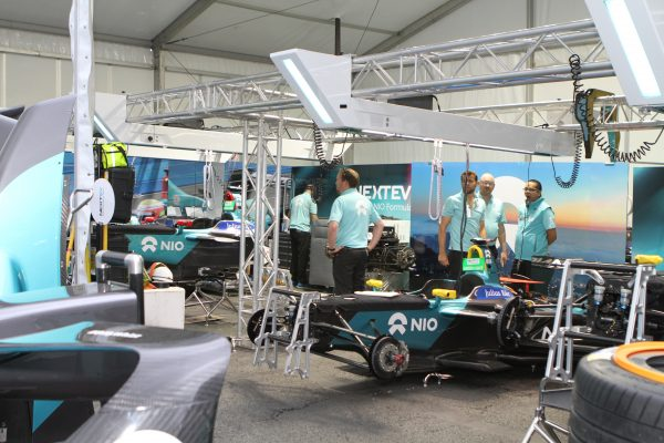 Team NextEV NIO (Team China Racing) avec Nelson Piquet Jr
