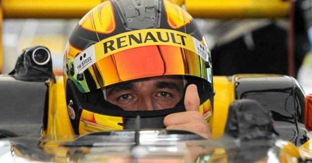 Kubica de retour au volant d'une F1