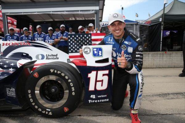 Graham Rahal, le doublé à Détroit City — Indycar
