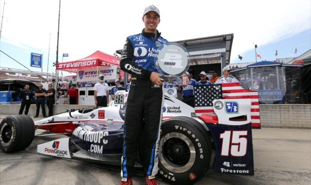 Graham Rahal double la mise