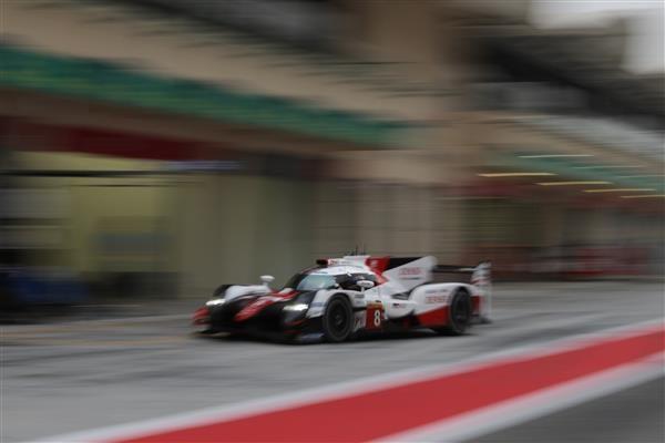 Alonso au volant de la Toyota TS050 à Bahreïn