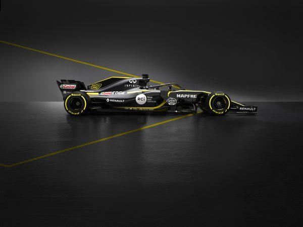 F1 : Renault dévoile sa nouvelle monoplace, la RS18
