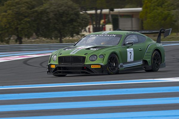 BLANCPAIN 2018 PAUL RICARD La BENTLEY M Sport Photo Edgar BELLEC