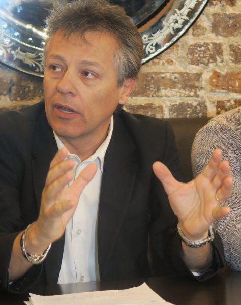 Eric Barbaroux, PDG d'Electric Formula, organisateur de l'épreuve